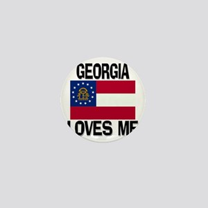 Georgia Loves Me Mini Button