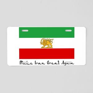 Make Persia Great Again, Fl Aluminum License Plate