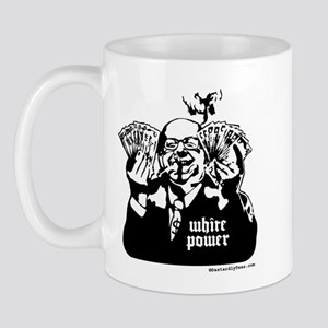 White Power Mug