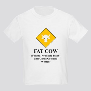 FAT COW Kids T-Shirt