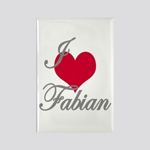 I love (heart) Fabian Rectangle Magnet
