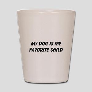 Dog Favorite Child Shot Glass