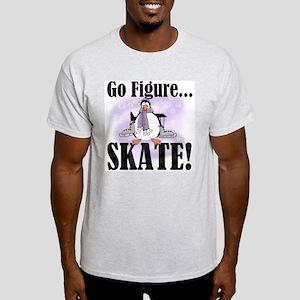 Penguin Figure Skating Light T-Shirt