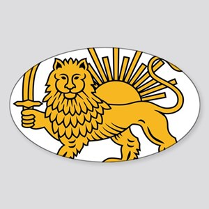 Emblem of the Shah of Iran (Persia) Sticker
