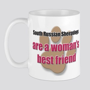 South Russian Sheepdogs woman's best friend Mug