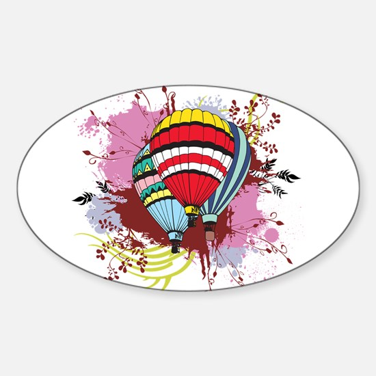 Ballooning Oval Decal