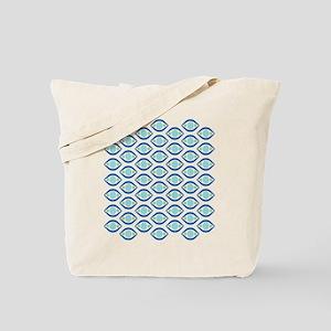 Ogee Jeweled Eyes Tote Bag
