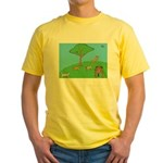 On the Hill Yellow T-Shirt