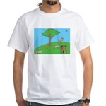 On the Hill White T-Shirt