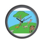 On the Hill Wall Clock