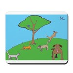 On the Hill Mousepad