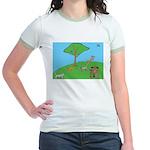 On the Hill Jr. Ringer T-Shirt