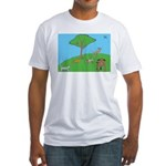 On the Hill Fitted T-Shirt