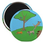 """On the Hill 2.25"""" Magnet (100 pack)"""