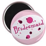 Retro Bridesmaid Magnet