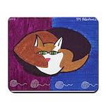 cat-ball Mousepad