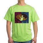 cat-ball Green T-Shirt