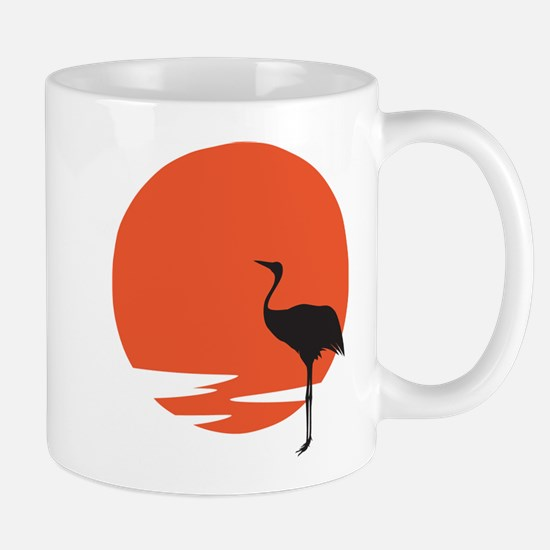 Crane bird Mug