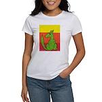 green-dog flirt Women's T-Shirt