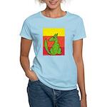 green-dog flirt Women's Light T-Shirt