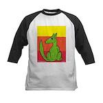 green-dog flirt Kids Baseball Jersey