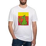 green-dog flirt Fitted T-Shirt