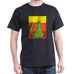 green-dog flirt Dark T-Shirt