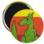 """green-dog flirt 2.25"""" Magnet (100 pack)"""