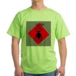 Inflammable Temper Green T-Shirt