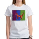 orange dog heel Women's T-Shirt