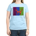 orange dog heel Women's Light T-Shirt