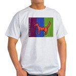 orange dog heel Light T-Shirt