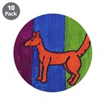 "orange dog heel 3.5"" Button (10 pack)"