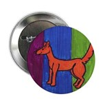 "orange dog heel 2.25"" Button (10 pack)"