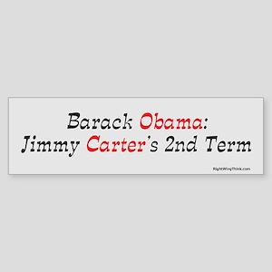 Jimmy Carter's 2nd term Bumper Sticker