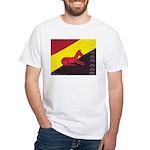 stay dog stay White T-Shirt
