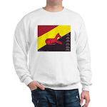 stay dog stay Sweatshirt