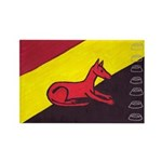 stay dog stay Rectangle Magnet (10 pack)