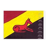stay dog stay Postcards (Package of 8)