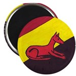 """stay dog stay 2.25"""" Magnet (100 pack)"""