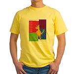 Walk the Yellow Dog Yellow T-Shirt