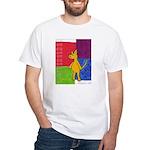 Walk the Yellow Dog White T-Shirt
