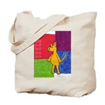 Walk the Yellow Dog Tote Bag