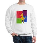 Walk the Yellow Dog Sweatshirt