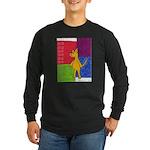 Walk the Yellow Dog Long Sleeve Dark T-Shirt