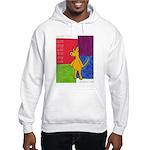 Walk the Yellow Dog Hooded Sweatshirt
