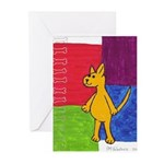 Walk the Yellow Dog Greeting Cards (Pk of 10)