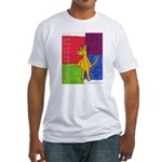 Walk the Yellow Dog Fitted T-Shirt