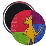 """Walk the Yellow Dog 2.25"""" Magnet (10 pack)"""