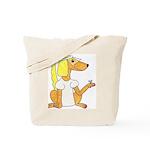 dog Bride Tote Bag